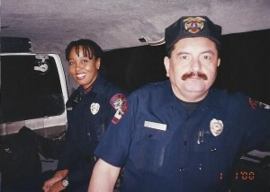 CARLA NICKERSON AS A COP