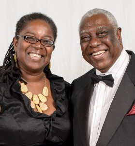 Toni Simmons Henson and Woodie King, Jr.